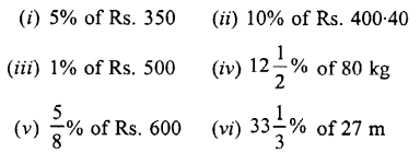 Selina Concise Mathematics Class 7 ICSE Solutions Chapter 7 Percent and Percentage Ex 8A Q4