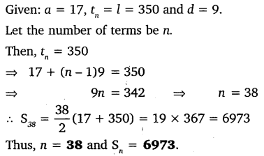 NCERT Solutions for Class 10 Maths Chapter 5 Arithmetic Progressions 64