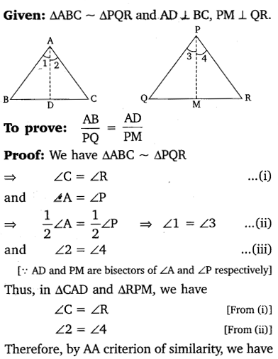 NCERT Solutions for Class 10 Maths Chapter 6 Triangles 53