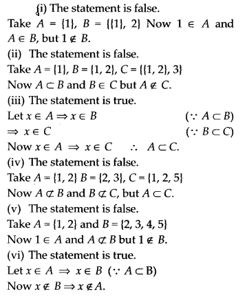 NCERT Solutions for Class 11 Maths Chapter 1 Sets Miscellaneous Exercise 1