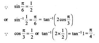 NCERT Solutions for Class 12 Maths Chapter 2 Inverse Trigonometric Functions Ex 2.2 Q11.1