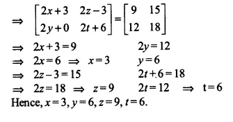 NCERT Solutions for Class 12 Maths Chapter 3 Matrices Ex 3.2 Q10.1