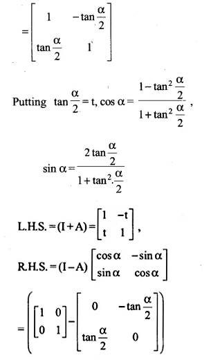 NCERT Solutions for Class 12 Maths Chapter 3 Matrices Ex 3.2 Q18.1