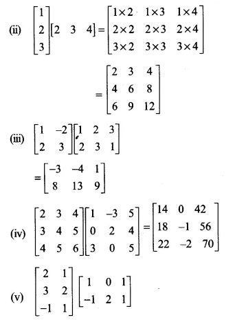 NCERT Solutions for Class 12 Maths Chapter 3 Matrices Ex 3.2 Q3.1