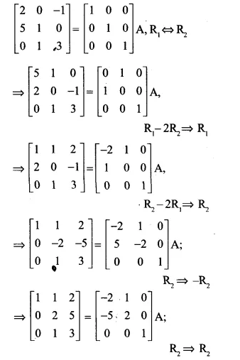 NCERT Solutions for Class 12 Maths Chapter 3 Matrices Ex 3.4 Q17.1