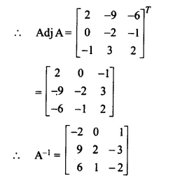 NCERT Solutions for Class 12 Maths Chapter 4 Determinants Ex 4.5 Q10.1