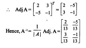 NCERT Solutions for Class 12 Maths Chapter 4 Determinants Ex 4.5 Q6.1