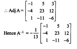 NCERT Solutions for Class 12 Maths Chapter 4 Determinants Ex 4.5 Q9.1