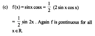 NCERT Solutions for Class 12 Maths Chapter 5 Continuity and Differentiability Ex 5.1 Q21.3