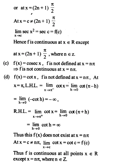 NCERT Solutions for Class 12 Maths Chapter 5 Continuity and Differentiability Ex 5.1 Q22.2