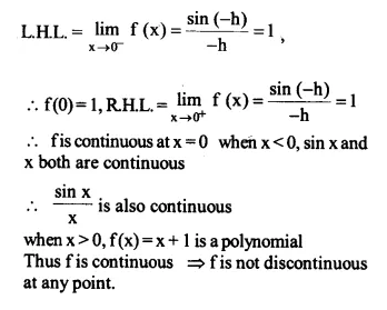 NCERT Solutions for Class 12 Maths Chapter 5 Continuity and Differentiability Ex 5.1 Q23.1