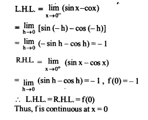 NCERT Solutions for Class 12 Maths Chapter 5 Continuity and Differentiability Ex 5.1 Q25.1