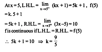 NCERT Solutions for Class 12 Maths Chapter 5 Continuity and Differentiability Ex 5.1 Q29.1