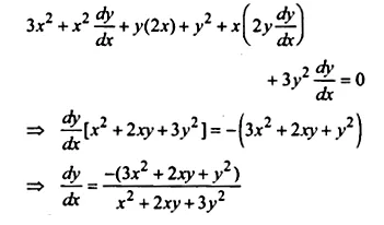 NCERT Solutions for Class 12 Maths Chapter 5 Continuity and Differentiability Ex 5.3 Q6.1
