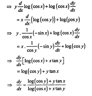 NCERT Solutions for Class 12 Maths Chapter 5 Continuity and Differentiability Ex 5.5 Q14.1