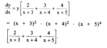 NCERT Solutions for Class 12 Maths Chapter 5 Continuity and Differentiability Ex 5.5 Q5.1