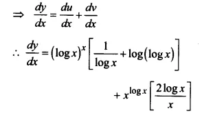 NCERT Solutions for Class 12 Maths Chapter 5 Continuity and Differentiability Ex 5.5 Q7.2