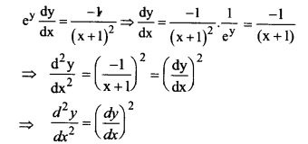 NCERT Solutions for Class 12 Maths Chapter 5 Continuity and Differentiability Ex 5.7 Q16.1