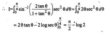 NCERT Solutions for Class 12 Maths Chapter 7 Integrals Ex 7.10 Q3.1