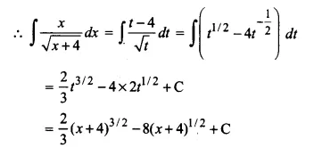 NCERT Solutions for Class 12 Maths Chapter 7 Integrals Ex 7.2 Q11.1