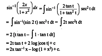 NCERT Solutions for Class 12 Maths Chapter 7 Integrals Ex 7.6 Q22.1