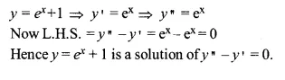 NCERT Solutions for Class 12 Maths Chapter 9 Differential Equations Ex 9.2 Q1.1