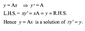 NCERT Solutions for Class 12 Maths Chapter 9 Differential Equations Ex 9.2 Q5.1