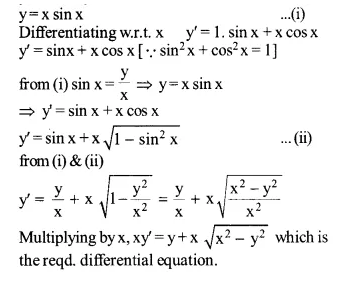 NCERT Solutions for Class 12 Maths Chapter 9 Differential Equations Ex 9.2 Q6.1