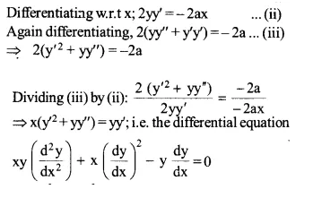 NCERT Solutions for Class 12 Maths Chapter 9 Differential Equations Ex 9.3 Q2.1