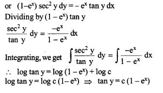 NCERT Solutions for Class 12 Maths Chapter 9 Differential Equations Ex 9.4 Q10.1