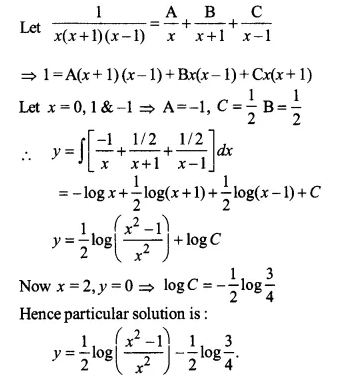 NCERT Solutions for Class 12 Maths Chapter 9 Differential Equations Ex 9.4 Q12.1