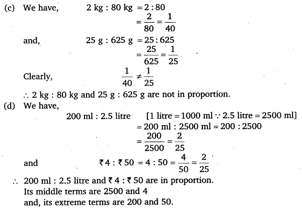NCERT Solutions for Class 6 Maths Chapter 12 Ratio and Proportion 17