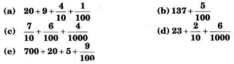 NCERT Solutions for Class 6 Maths Chapter 8 Decimals 26