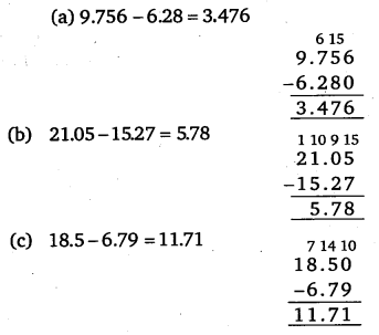 NCERT Solutions for Class 6 Maths Chapter 8 Decimals 50