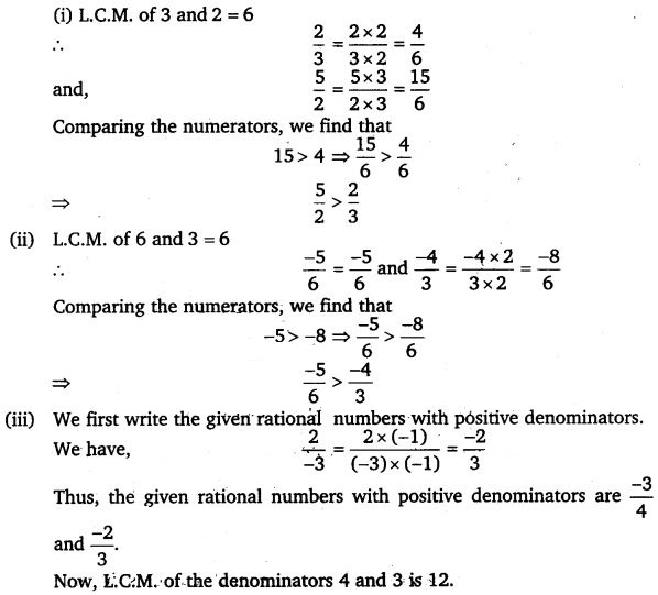 NCERT Solutions for Class 7 Maths Chapter 9 Rational Numbers 27