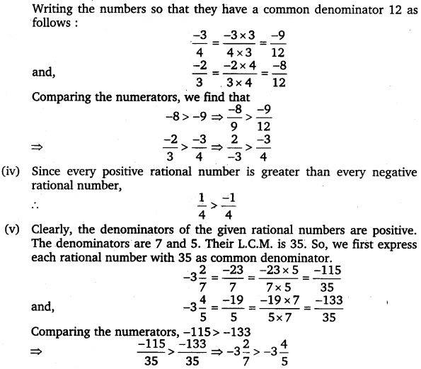 NCERT Solutions for Class 7 Maths Chapter 9 Rational Numbers 28
