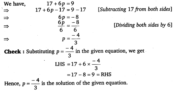 NCERT Solutions for Class 8 Maths Chapter 2 Linear Equations In One Variable 13