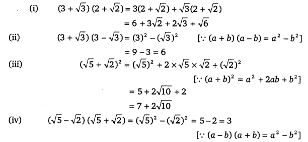 NCERT Solutions for Class 9 Maths Chapter 1 Number Systems Ex 1.5-1