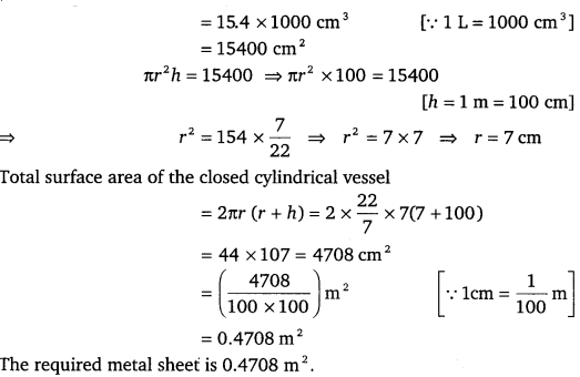 NCERT Solutions for Class 9 Maths Chapter 13 Surface Areas and Volumes Ex 13.6.6