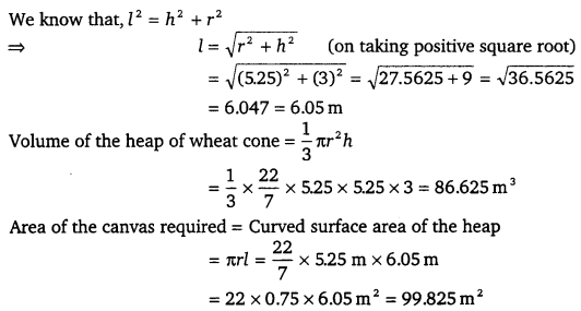 NCERT Solutions for Class 9 Maths Chapter 13 Surface Areas and Volumes Ex 13.7.11