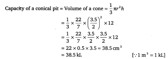 NCERT Solutions for Class 9 Maths Chapter 13 Surface Areas and Volumes Ex 13.7.5