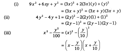 NCERT Solutions for Class 9 Maths Chapter 2 Polynomials Ex 2.5.2