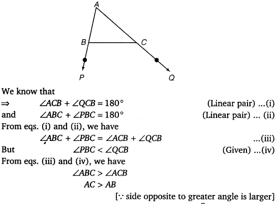 NCERT Solutions for Class 9 Maths Chapter 7 Triangles Ex 7.4.2