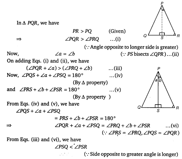 NCERT Solutions for Class 9 Maths Chapter 7 Triangles Ex 7.4.5