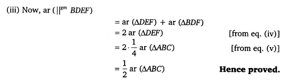 NCERT Solutions for Class 9 Maths Chapter 9 Areas of Parallelograms and Triangles Ex 9.3.7