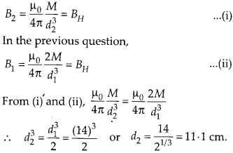 7NCERT Solutions for Class 12 Physics Chapter 5 Magnetism and Matter 17