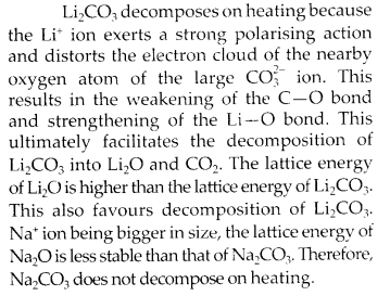 NCERT Solutions for Class 11 Chemistry Chapter 10 The s Block Elements 8