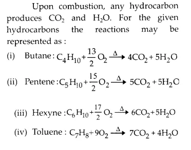 NCERT Solutions for Class 11 Chemistry Chapter 13 Hydrocarbons 13