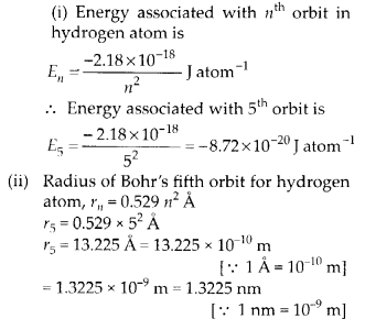 NCERT Solutions for Class 11 Chemistry Chapter 2 Structure of Atom 19
