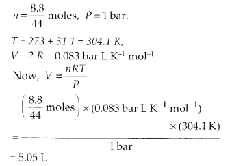 NCERT Solutions for Class 11 Chemistry Chapter 5 States of Matter 16